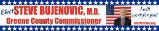 Elect Steve Bujenovic for Greene County Commissioner