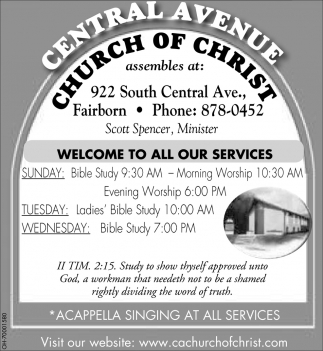 Welcome to all our services