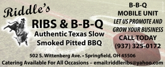 Authentic Texas Slow Smoked Pitted BBQ