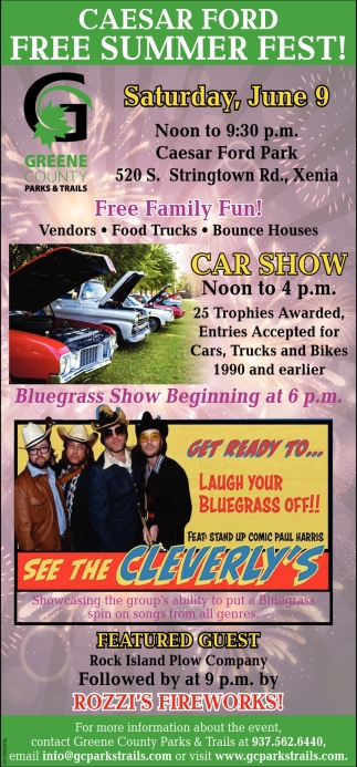 Caesar Ford Free Summer Fest!