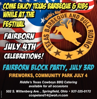 Fairborn July 4th Celebrations!