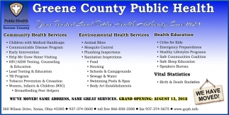 Your trusted local public health authority since 1920