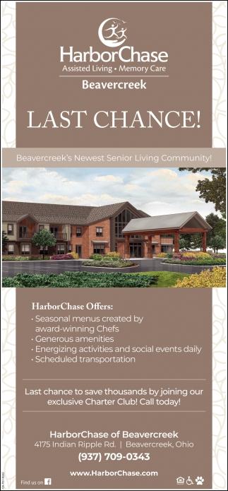 Beavercreek's Newest Senior Living Community!