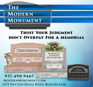 Trust Your Judgment Don't Overpay For A Memorial