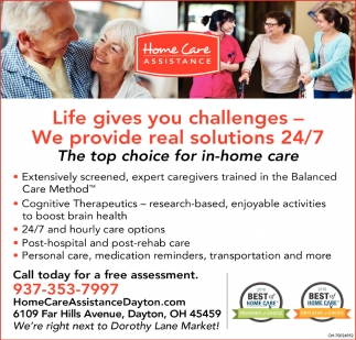 The top choice for in-home care