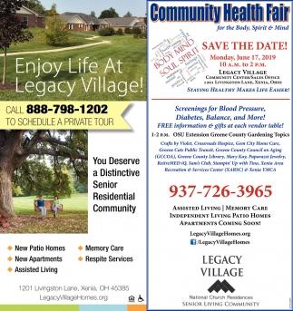 Community Health Fair June 17