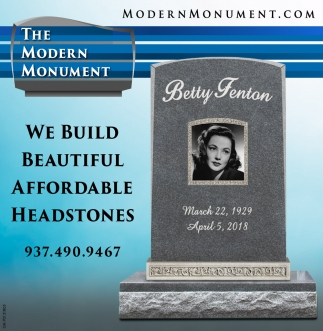 We build beautiful affordable headstones