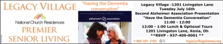 Second Alzheimer Association Presentation - Have a Dementia Conversation