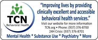 Improving lives by providing clinically excellent and accessible behavioral health services