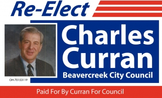 Re-Elect Charles Curran Beavercreek City Council